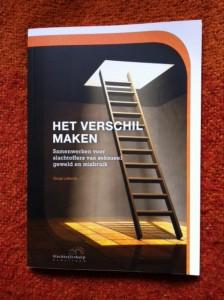 Het verschil maken, boek van slachtofferhulp Nederland, Sonja Leferink